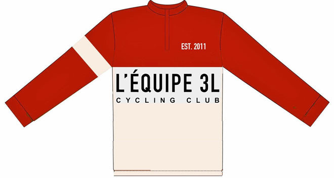 2016 retro Woollen Jumper 3L team