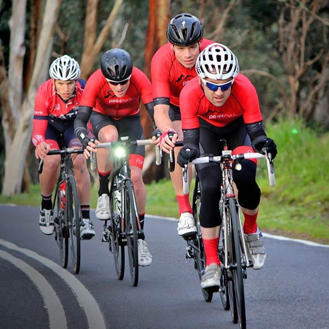 Peak Cycles Kinglake breakaway